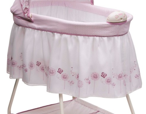 Welcome Baby Girl Bassinet